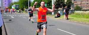 mark running half marathon