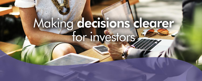 Clearer for investors